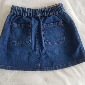 Boden Bottoms - Girl's Lot of Boden Bottoms: Denim Skirt & Shorts